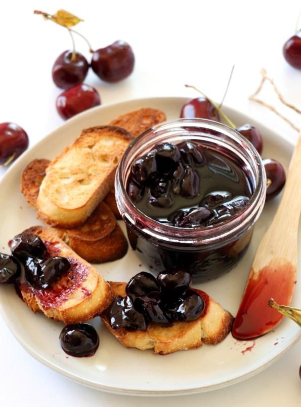 Cherry Wine Compote