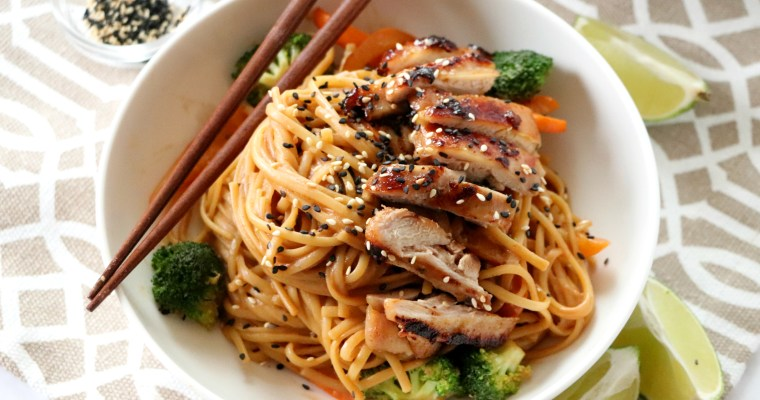 Chicken Peanut Noodles