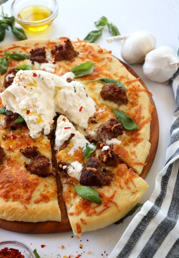 Burrata Pizza 2 Ways