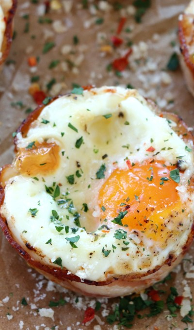 Pancetta Egg Muffins