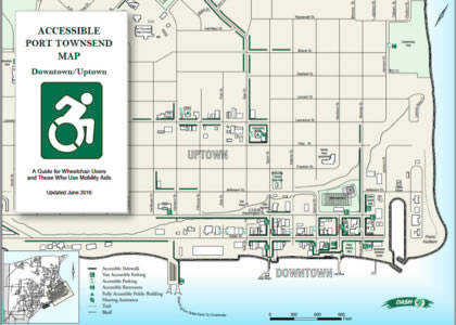 Accessible Port Townsend Map