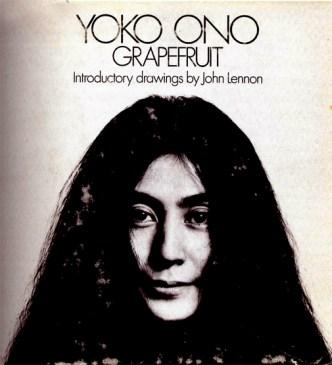 Künstlerbuch   Artists' book: Yoko Ono, Grapefruit. A book of instructions by Yoko Ono, 1970