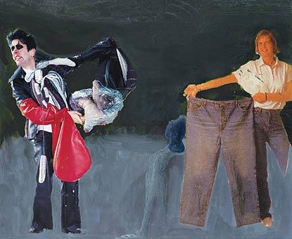 Franz West, ohne Titel (Untitled), 2003, Privatsammlung, Wien, Courtesy Galerie Meyer Kainer, Wien, © Franz West