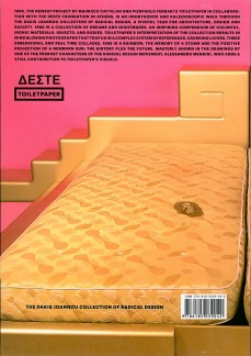 Künstlerbuch | Artists' book: Maurizio Cattelan / Pierpaolo Ferrari: 1968. Italien Radical Design (Deste Foundation Centre for Contemporary Art, 2014, Athen 2014)