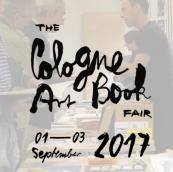 01-03 September 2017 | Cologne Art Book Fair, Cologne, Germany