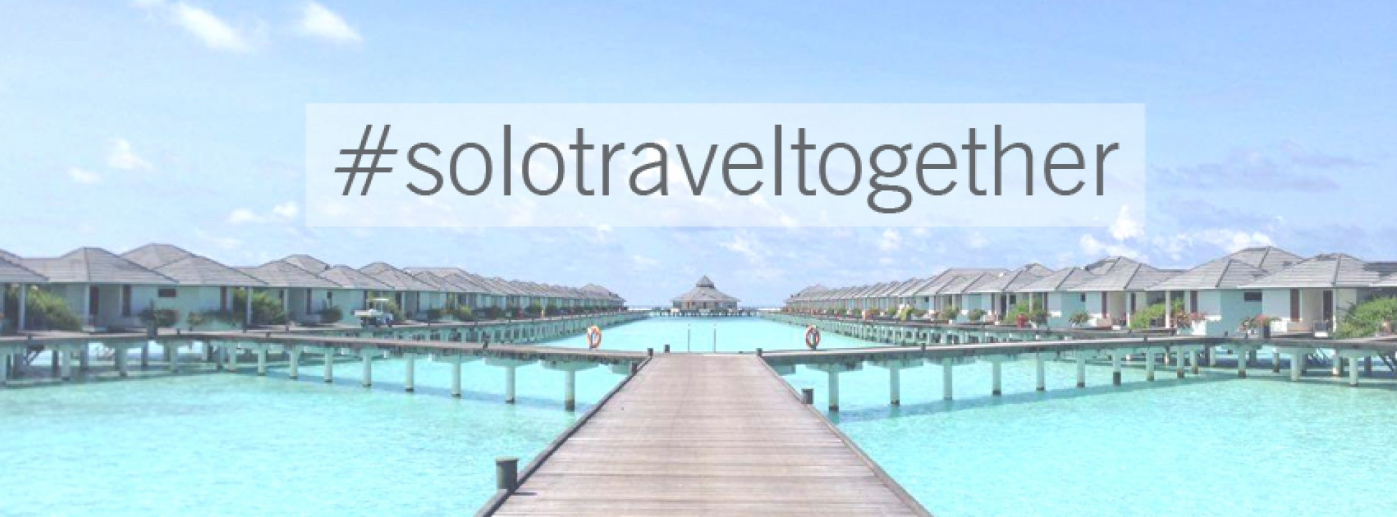 New Project: Solo Travel Together in Maldives