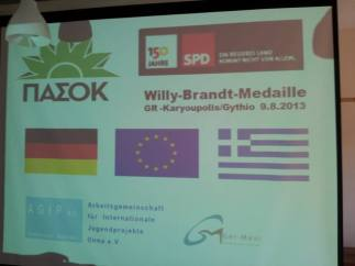 Willy Brandt Medaille 2