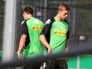 Christoph Kramer beim Yoyo-Test von Borussia Mönchengladbach. Foto: David Nienhaus