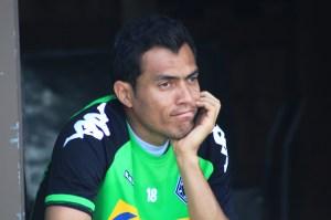 Juan Arango musste der langen Trainingseinheit Tribut zollen. Foto: David Nienhaus