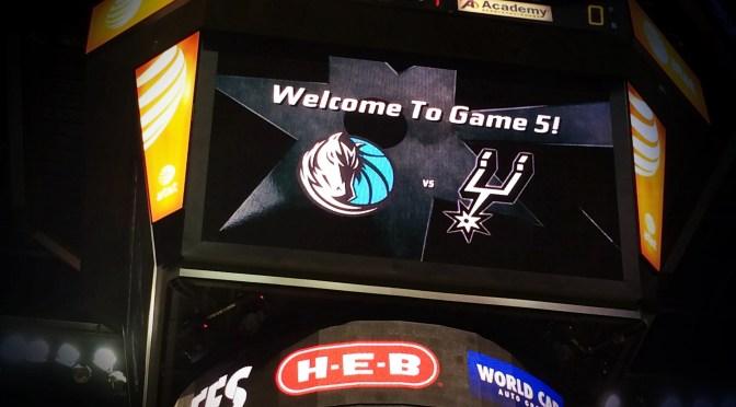 #NBAtrip – Tag 4: Mavs verlieren gegen die Spurs. Wieder