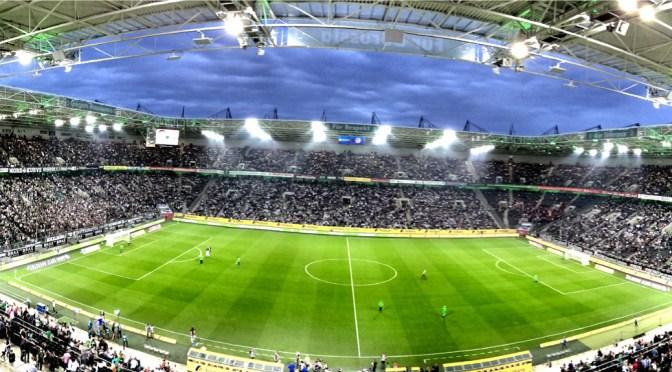 Der Borussia-Park beim Europa-League-Qualispiel gegen FK Sarajevo. Foto: David Nienhaus