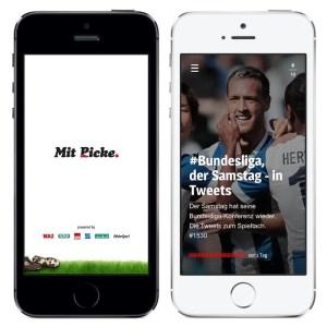 Mit Picke. - die neue Fußball-App, die Stories erzählt