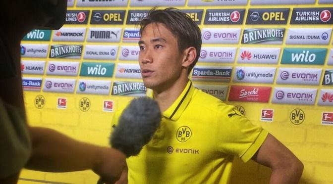 Auch Shinji Kagawa profitiert von dem Trainerwechsel in Dortmund beim BVB. Foto: David Nienhaus