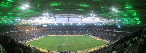 Gladbach schlägt Hannover 96 mit 2:1 im Borussia-Park am 13. Spieltag. Foto: David Nienhaus
