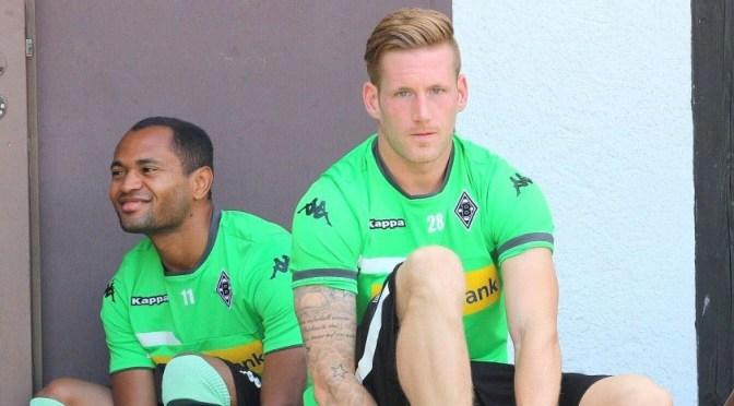 Andre Hahn von Borussia Mönchengladbach. Foto David Nienhaus