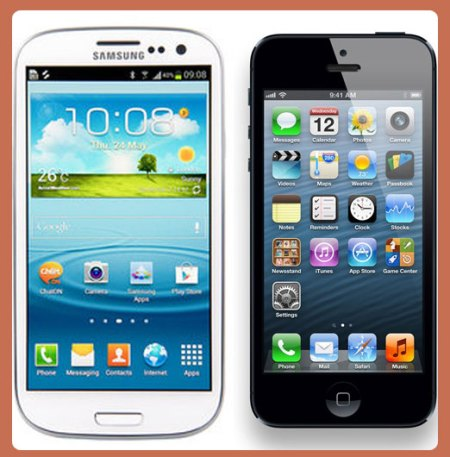 Compare-Android-phone-and-Iphone