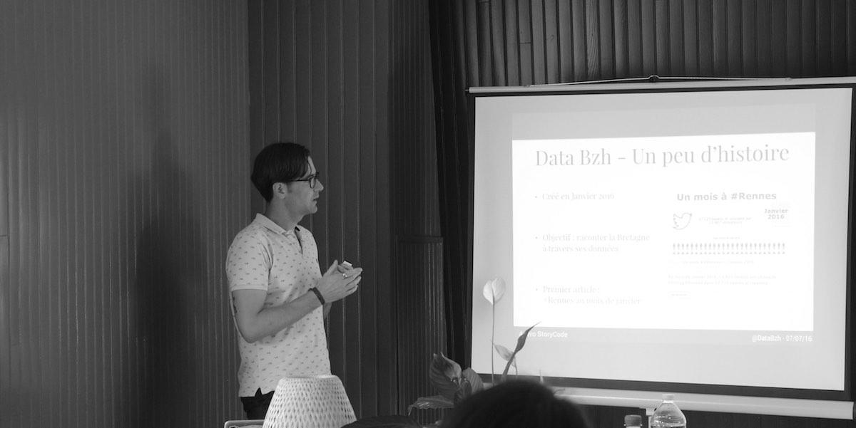 Data Bzh à l'Apéro StoryCode de Rennes