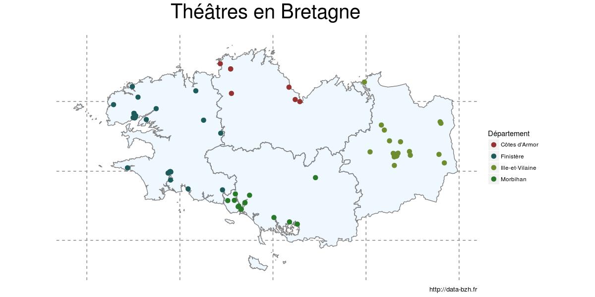 Théâtres de bretagne