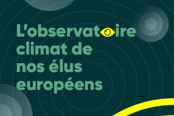 L'observatoire climat de nos élus européens