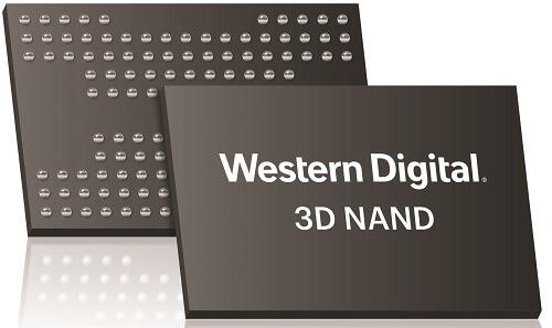 WD力挺QLC:首發96層3D NAND快閃記憶體
