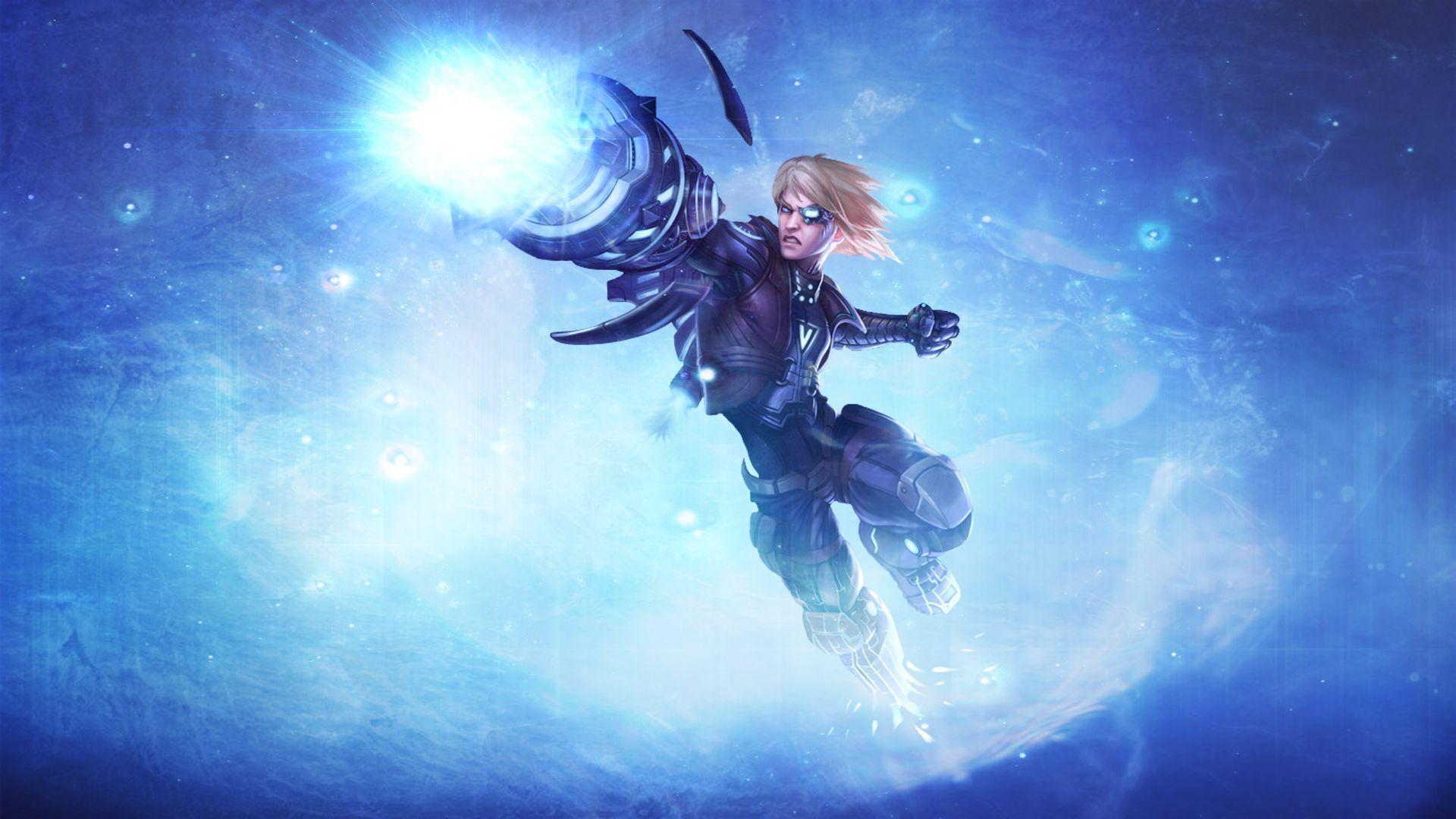 pulsefire Ezreal - League of Legends de fond d'écran hd: écran large: haute définition: plein écran
