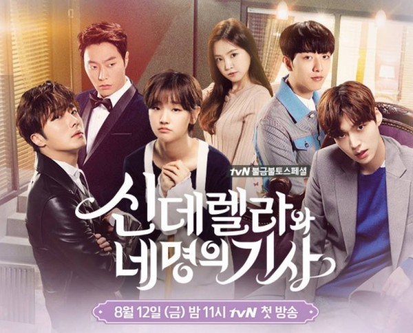 Image result for cinderella and the four knights