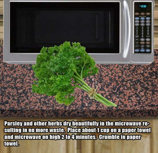 microwave hacks