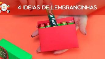 4 Ideias De Lembrancinhas Especais Para Pessoa Especiais De Natal!