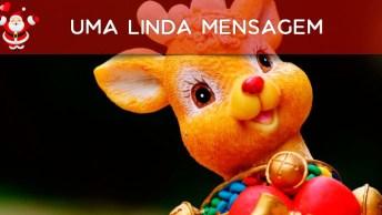 Amor. . . Feliz Natal - Uma Linda Mensagem Para Compartilhar No Facebook!