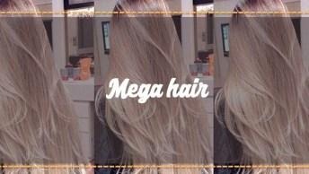 Antes E Depois De Aplicação De Mega Hair, Veja Como Ficou Perfeito!