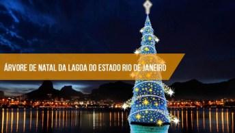 Árvore De Natal Da Lagoa Do Estado Rio De Janeiro, No Brasil, Confira!