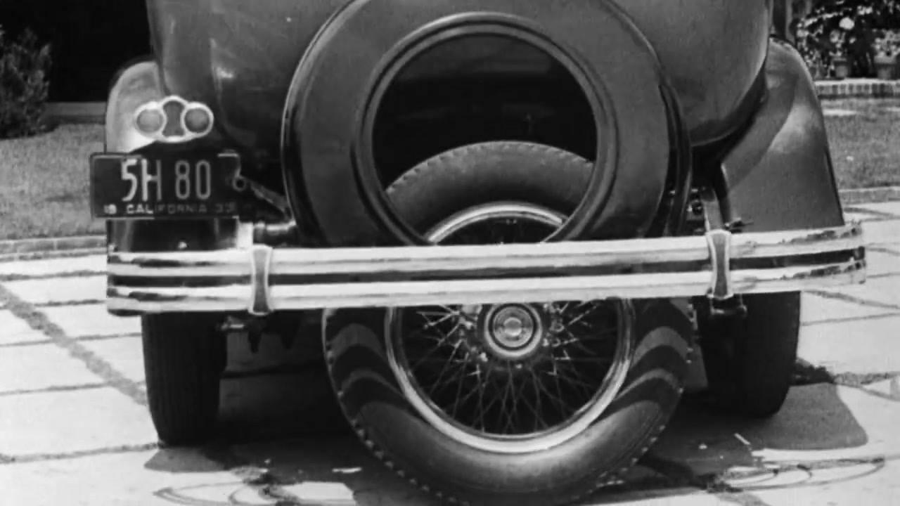 Antigo sistema de estacionamento