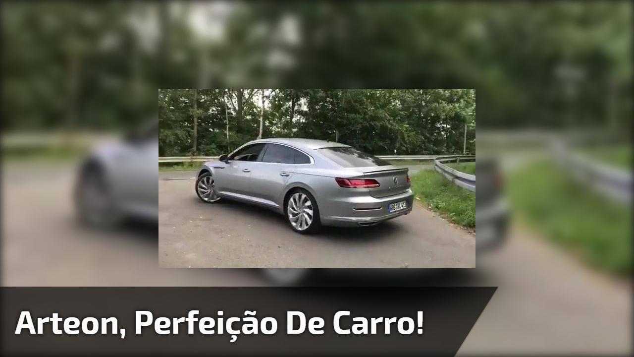 Arteon, perfeição de carro!