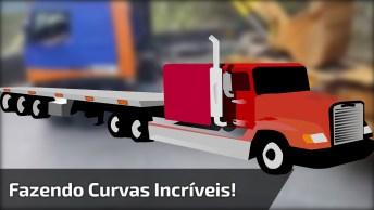 Caminhoneiro Faz Curvas Incríveis Descendo A Serra, Tem Que Ser Bom Hein!