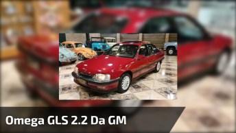 Carro De Coleção - Omega Gls 2. 2 Da Gm, Confira Que Peça De Museu!