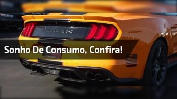Carro De Luxo Na Cor Laranja, Que Sonho De Consumo Hein, Confira!