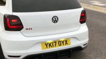 Carro Polo Gti Da Volkswagen - Escute O Ronco Do Motor!
