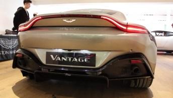Carro Vantage Da Aston Martin, Um Verdadeiro Luxo De Veículo!