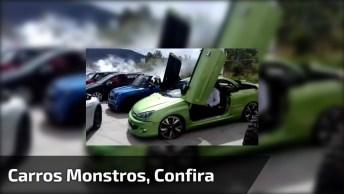 Carros Monstros, Qual Seria Mais A Sua Cara? Compartilhe Com Os Amigos!