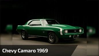 Chevy Camaro 1969 - Um Carro Antigo Que Faz Você Se Apaixonar!