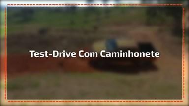 Como Fazer Um Test-Drive Com Uma Caminhonete 4X4? Confira No Vídeo!