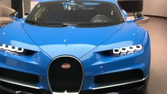 Conheça Carro Bugatti Chiron, Uma Máquina Em Forma De Veículo!
