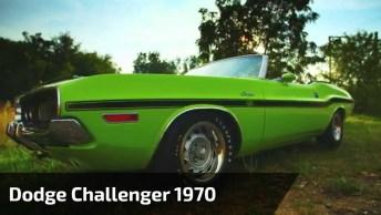 Dodge Challenger 1970 - O Carro Esta Em Perfeitas Condições!