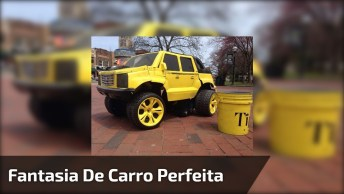 Fantasia De Carro, Perfeito Para Arrasar Em Suas Festas!
