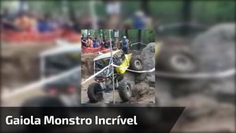 Gaiola Monstro Mostrando Para Que Foi No Evento, Sensacional!