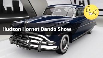 Hudson Hornet Dando Uma Volta De Apresentação Para Levar Os Fãs A Loucura!