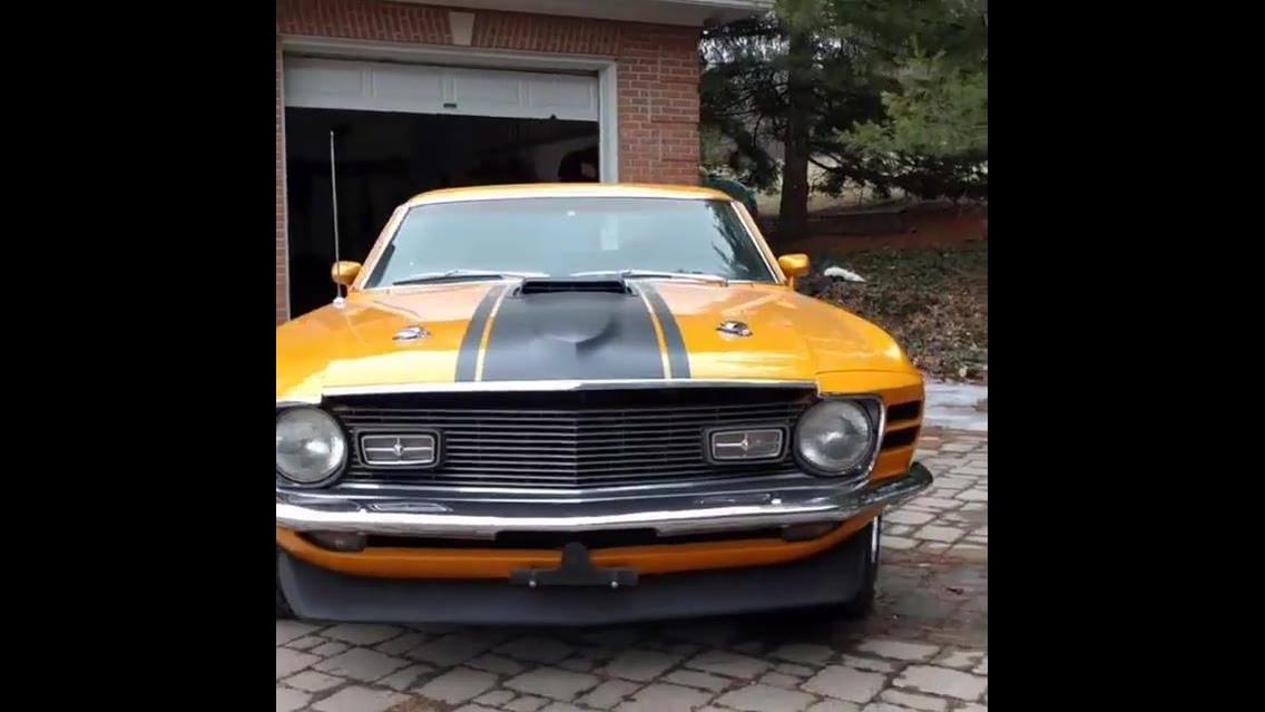 Imagens de um carro 428 Cobra Mustang