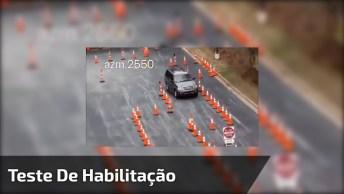 Já Imaginou Se O Teste Para Tirar Habilitação Fosse Assim No Brasil?