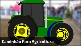 Miniatura De Caminhão Para Agricultura, Muito Legal, Confira!