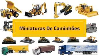 Miniaturas De Caminhões Para Fazer Qualquer Um Se Apaixonar!